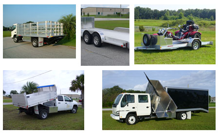 aluminum truck bodies and aluminum trailers